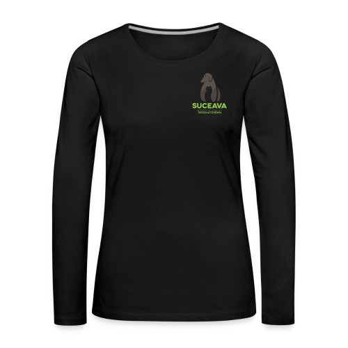 suc logo 300dpi - Frauen Premium Langarmshirt