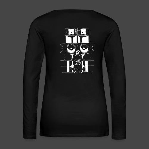 Système audio Tekno 23 - T-shirt manches longues Premium Femme