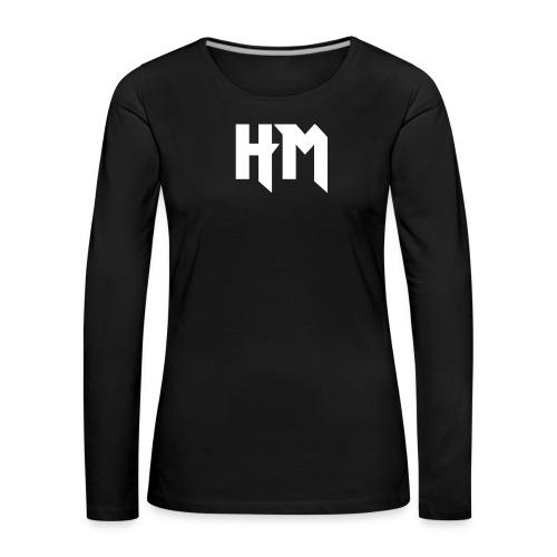 HM_vorne - Frauen Premium Langarmshirt