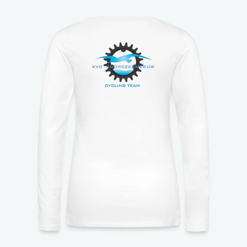 kledijlijn NZM 2017 - Vrouwen Premium shirt met lange mouwen