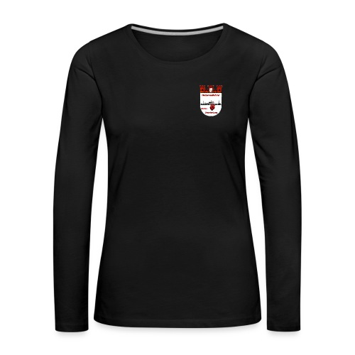 logorot gerade png - Frauen Premium Langarmshirt