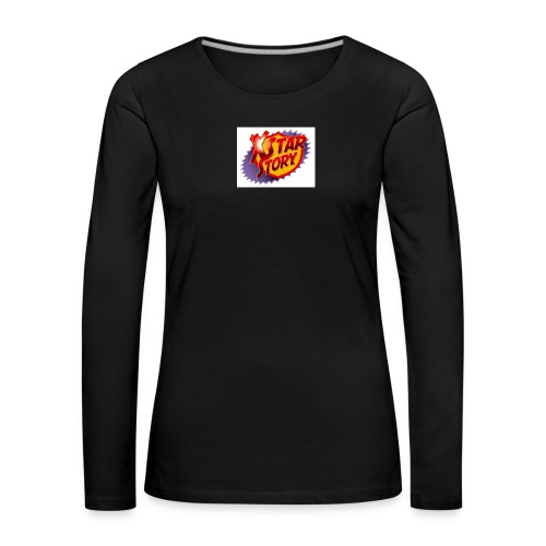 xstarstoryok - T-shirt manches longues Premium Femme