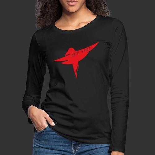 Raven Red - Women's Premium Longsleeve Shirt