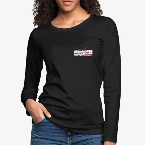 harder'z girls power - T-shirt manches longues Premium Femme