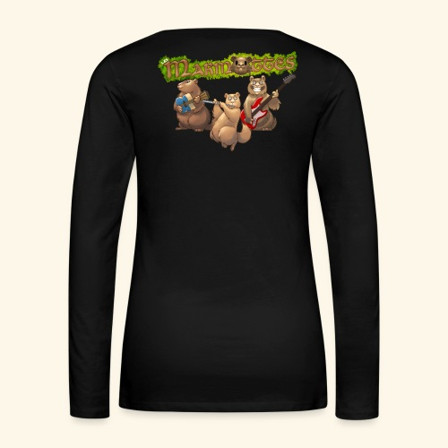 Tshirt groupe dos - T-shirt manches longues Premium Femme