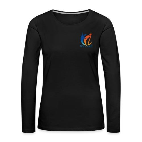 logoneu vektor - Frauen Premium Langarmshirt