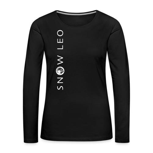 leo_gif_neu - Frauen Premium Langarmshirt