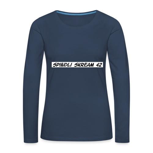 Spindli Skream's Shop - Frauen Premium Langarmshirt