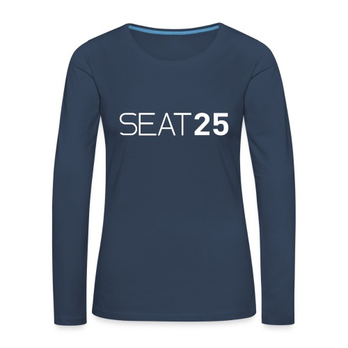 Seat25 Logo Light - Women's Premium Longsleeve Shirt