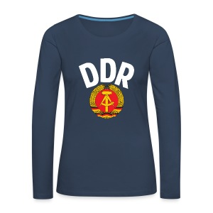DDR - German Democratic Republic - Est Germany - Frauen Premium Langarmshirt