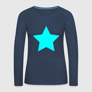 star - Women's Premium Longsleeve Shirt