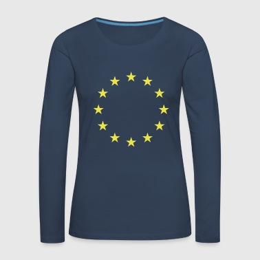 EU stars - Women's Premium Longsleeve Shirt