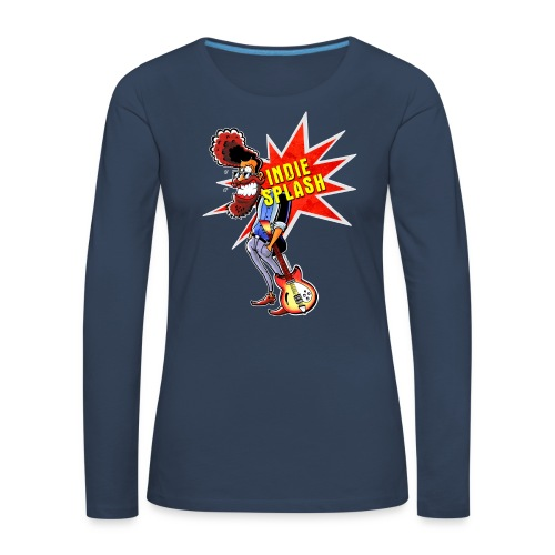 Indie Splash - Frauen Premium Langarmshirt