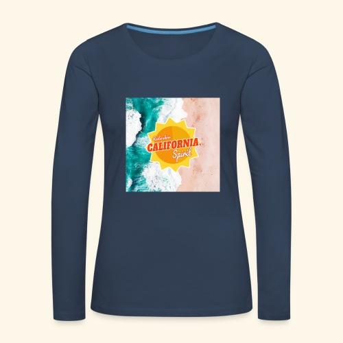 California Spirit Surfin - T-shirt manches longues Premium Femme