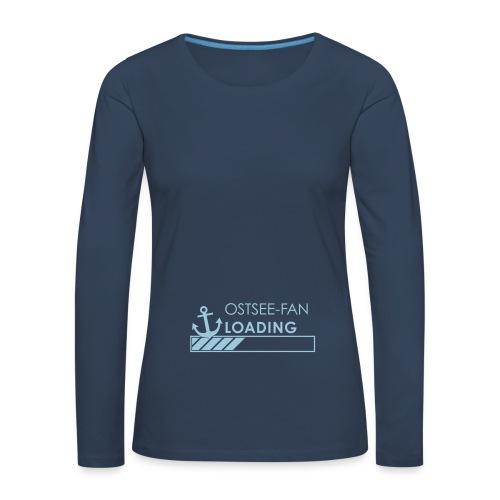Ostseefan loading - Frauen Premium Langarmshirt