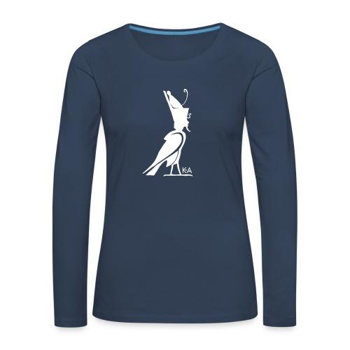 KA Seele - Altes Ägypten - Frauen Premium Langarmshirt
