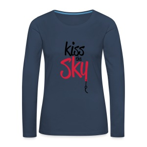 Kiss the Sky - Frauen Premium Langarmshirt