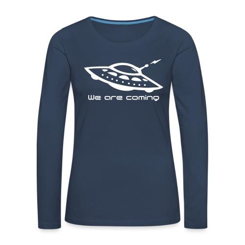 We Are Coming - Women's Premium Longsleeve Shirt