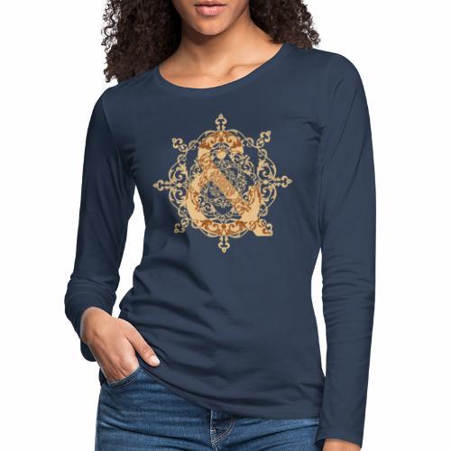 Escudo natural & ... - Camiseta de manga larga premium mujer