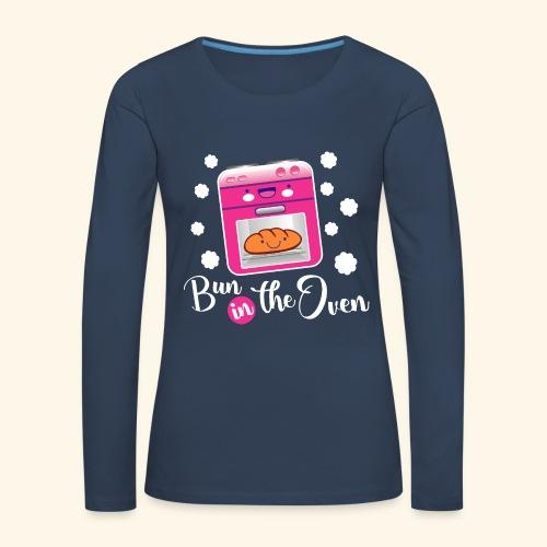 Bun in the oven - Camiseta de manga larga premium mujer