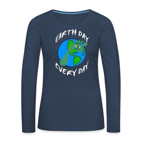 Earth Day Every Day - Frauen Premium Langarmshirt