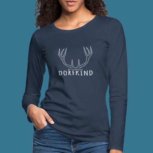 Dorfkinder - Frauen Premium Langarmshirt