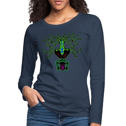 science - Frauen Premium Langarmshirt