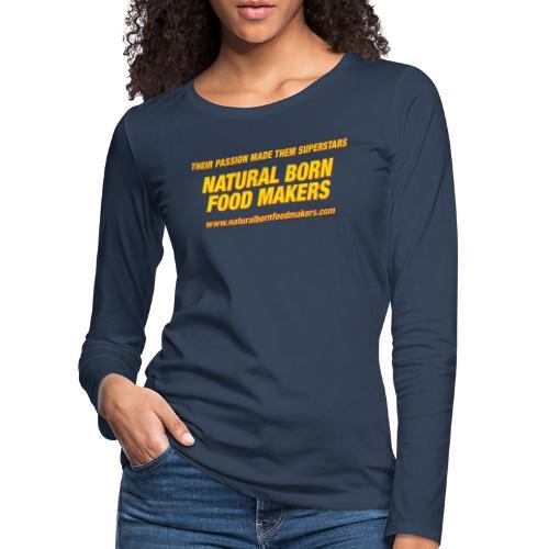 """Mick & Mallory - Superstars"" - Frauen Premium Langarmshirt"