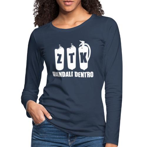 ZTK Vandali Dentro Morphing 1 - Women's Premium Longsleeve Shirt