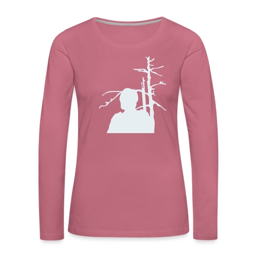 Sotilas - Naisten premium pitkähihainen t-paita