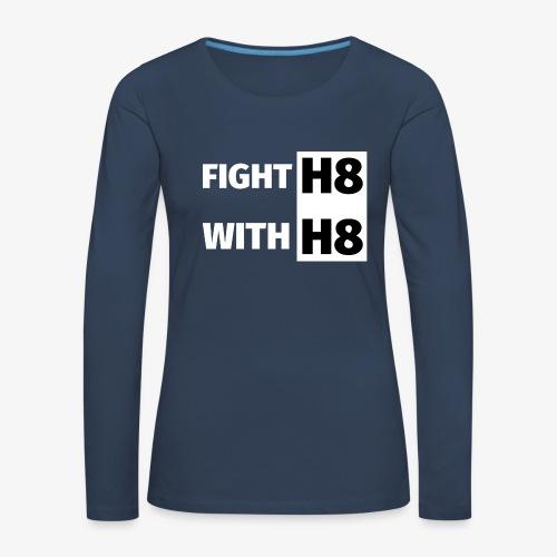 FIGHTH8 bright - Women's Premium Longsleeve Shirt