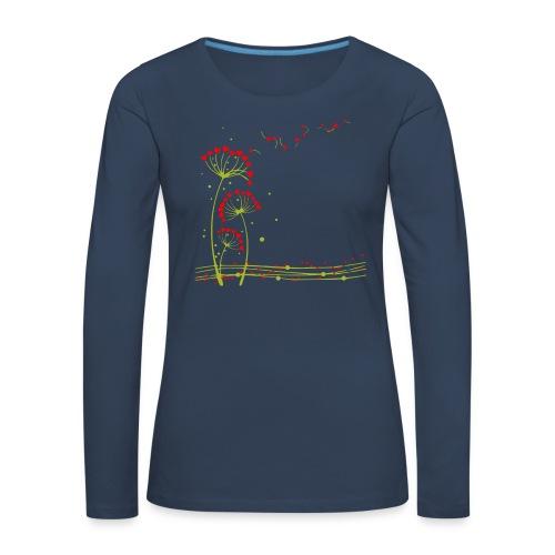 Flocoeur - T-shirt manches longues Premium Femme