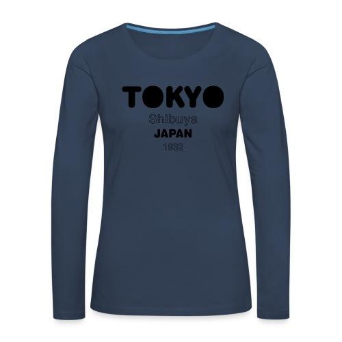 Tokyo JAPAN - T-shirt manches longues Premium Femme