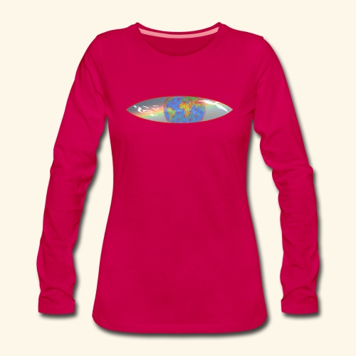 Heal the World - Frauen Premium Langarmshirt