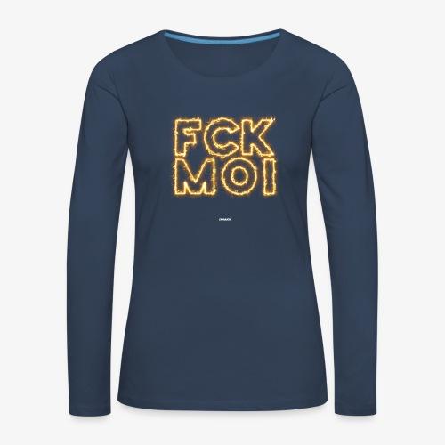 FCKMOI #05 - Frauen Premium Langarmshirt