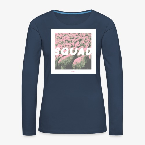 SQUAD #01 - Frauen Premium Langarmshirt