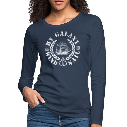 MY GALAXY - Women's Premium Longsleeve Shirt