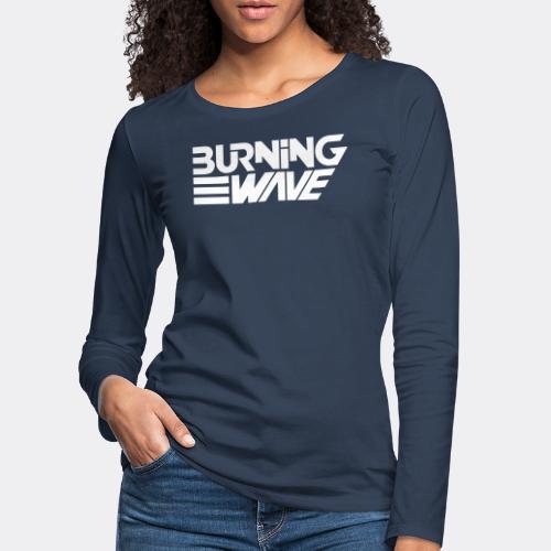 Burning Wave Block - T-shirt manches longues Premium Femme