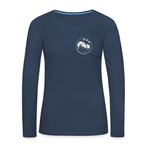 LOGO ADRESSE INTERNET bla - T-shirt manches longues Premium Femme