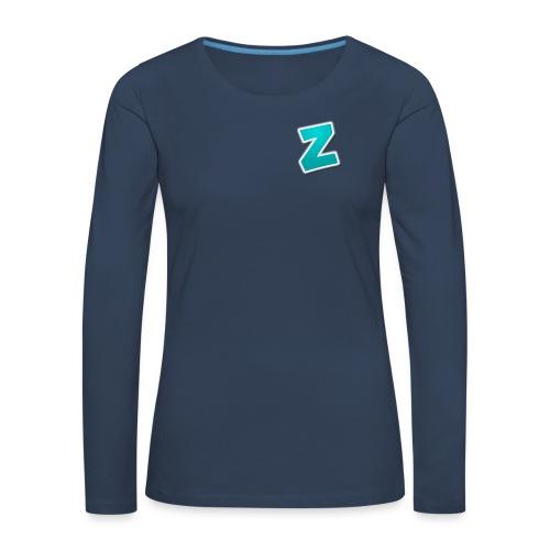 Z3RVO Logo! - Women's Premium Longsleeve Shirt