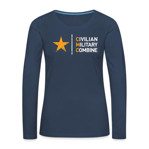 CMC Design - Vrouwen Premium shirt met lange mouwen