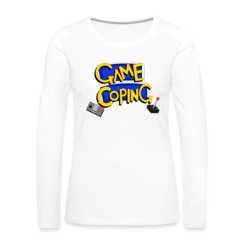Game Coping Logo - Women's Premium Longsleeve Shirt