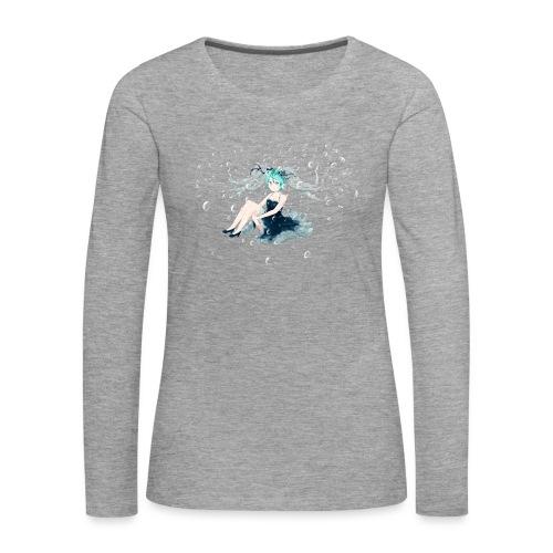 Water Miku O.C. - Maglietta Premium a manica lunga da donna