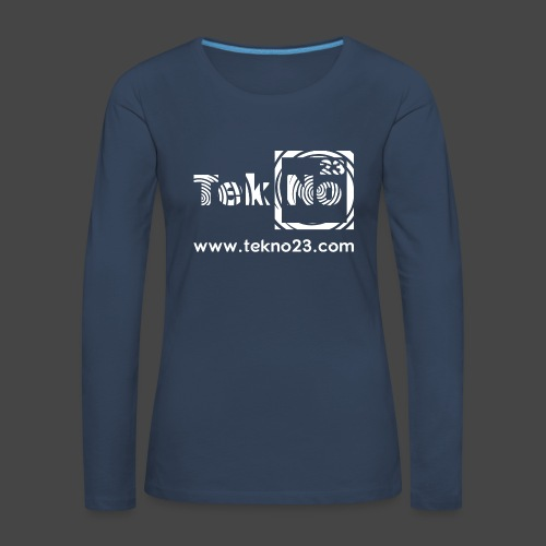 tekno 23 - T-shirt manches longues Premium Femme