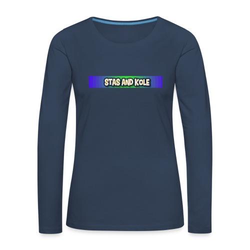 Shirt Logo - Women's Premium Longsleeve Shirt