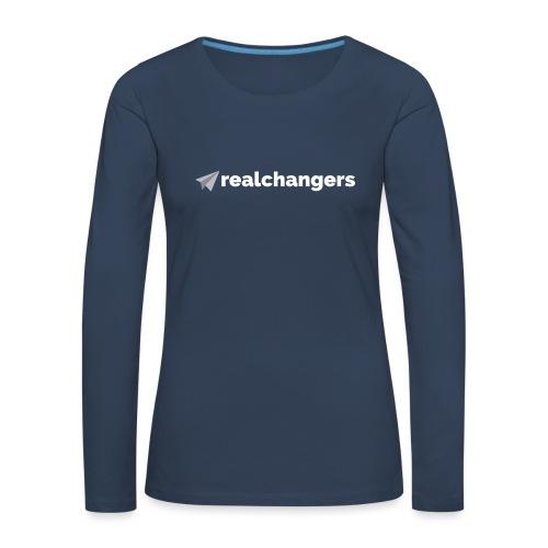realchangers - Women's Premium Longsleeve Shirt