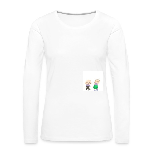 Grow old with me - Frauen Premium Langarmshirt