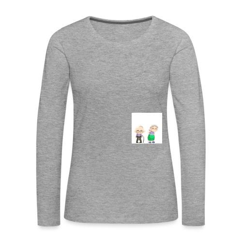 Grow old with me - Frauen Premium Langarmshirt