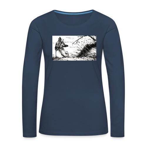SERIOUS MAN - Maglietta Premium a manica lunga da donna