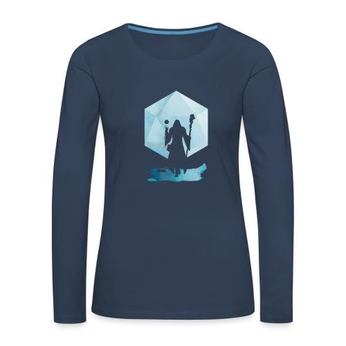 Legendaarinen Mage - Dungeons and Dragons d20 - Naisten premium pitkähihainen t-paita